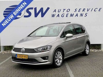 tweedehands VW Golf Sportsvan 1.4 TSI Highline Automaat Pano Navi PDC Climate