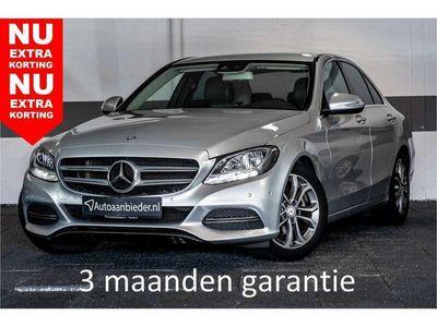 tweedehands Mercedes C180 Ambition   Exclusive int. + ext.   Spoor & spiegel