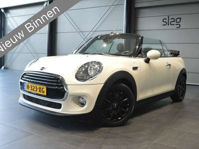 tweedehands Mini Cooper Cabriolet 1.5 navi clima cruise pdc 16 inch 136 pk !!
