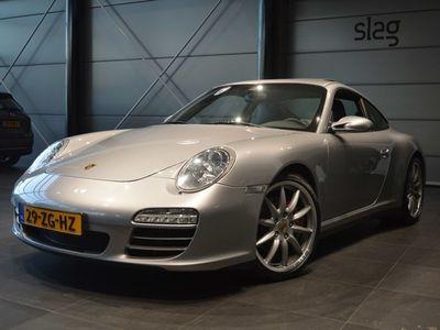 tweedehands Porsche 911 Carrera 4S 3.8 navigatie schuifdak leer clima pdc xenon 19 inch 355 pk !!