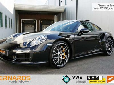 tweedehands Porsche 911 Turbo S  991 Orig. NL * Approved *Bose *Panorama