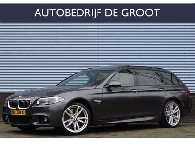 tweedehands BMW 530 5-SERIE Touring xd M Sport Edition High Executive Automaat, Leer, Head-Up, Panoramadak, LED