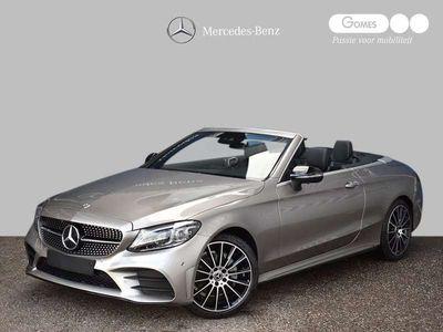 tweedehands Mercedes C200 Cabriolet Premium Plus AMG | Nightpakket | Burmest