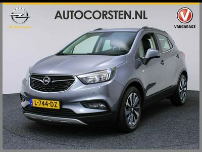 tweedehands Opel Mokka X 1.4T 140PK Innovation Navi Pdc 1/2Leer Tel. Ecc Cruise Usb Mistlampen Isofix 18''LM