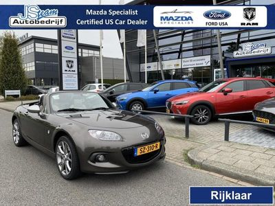 tweedehands Mazda MX5 NC Roadster Coupe 1.8i Silver Edition Airco Leder