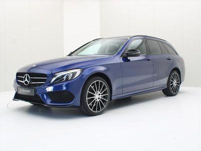 tweedehands Mercedes C250 C-Klasse Estated 204pk 7G-TRONIC AMG LINE [ PANORAMADAK+LEDER+LED+NAVI+CLIMAAT ]