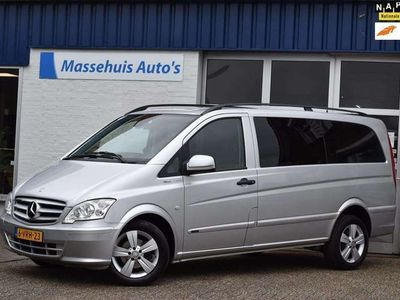 tweedehands Mercedes Vito 122 CDI 320 Lang DC Luxe V6 Marge auto Xenon Nwe A