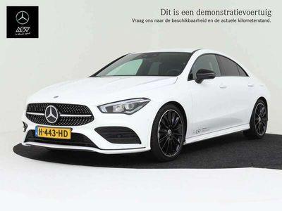 tweedehands Mercedes CLA200 AMG-Line automaat, 19 Inch Multispaaks AMG velgen
