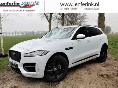 tweedehands Jaguar F-Pace 20d 180pk AWD R-SPORT Automaat Leder, LED, Navi, C amera, NW Pr: 85.634,-