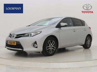tweedehands Toyota Auris 1.8 Hybrid Lease Top 5 editie Navigatie   Cruise control   Climat control