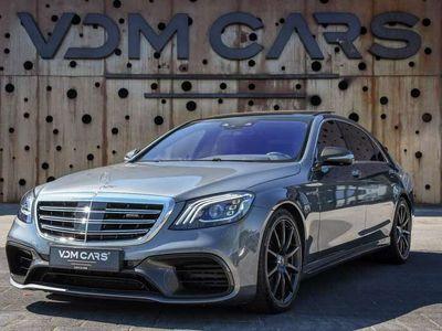 tweedehands Mercedes S63 AMG AMG 4Matic+ Lang Premium Plus | Executive | Carbon Ext