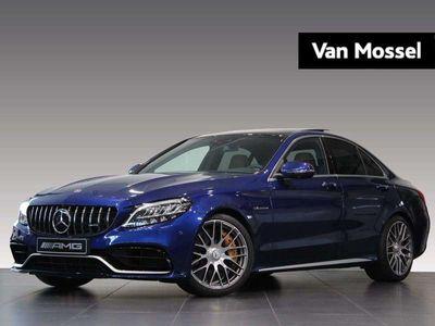 tweedehands Mercedes C63S AMG C-KlasseAMG 510pk/ Kuipstoelen/ Designo/ Keramische remmen/..