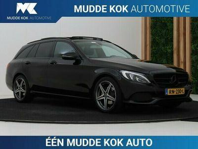 tweedehands Mercedes 200 C-Klasse EstateCDI Business Solution | Panoramadak | Beenverlengers | Camera | Navigatie | Trekhaak