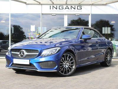 tweedehands Mercedes 400 C-Klasse Cabrio4MATIC | Stoel verwaming/ventilatie | Burmester | Camera | E. stoelen |