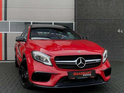 tweedehands Mercedes GLA45 AMG AMG / 4-matic / 381pk / Leder / Pano / Harman Kardon /