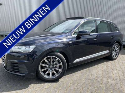 tweedehands Audi Q7 3.0 TDI 7-PERS. S-LINE PANO LUCHTVERING VIRTUAL-DA