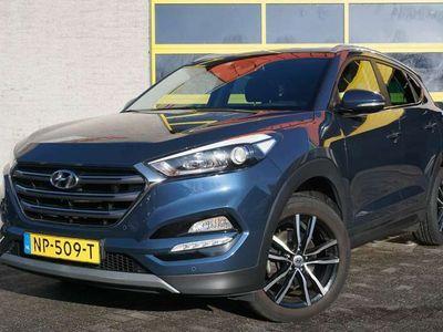 "tweedehands Hyundai Tucson 1.7 CRDi Go BJ2017 Lmv 18""   Led   Pdc   Navi   Ac"