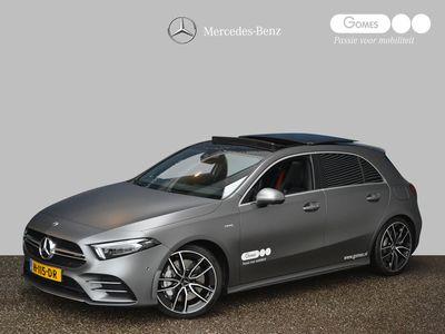 tweedehands Mercedes A35 AMG A-Klasse4MATIC Premium Plus | 306PK | AMG Performance-stoelen | AMG uitlaatsysteem | Panoramadak .
