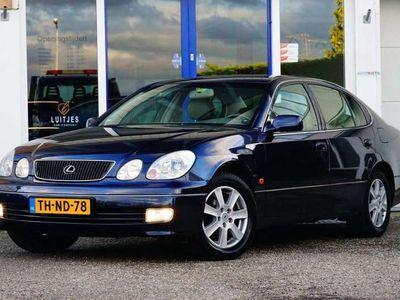tweedehands Lexus GS300 V6 222pk AUT I Leder I Zeer netjes! Youngtimer