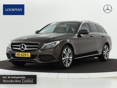 tweedehands Mercedes E350 C-Klasse EstateLease Edition   Navigatie   Leder interieur  ..