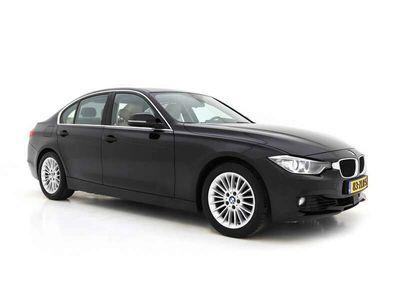 tweedehands BMW 320 3-SERIE d EfficientDynamics Upgrade Edition Luxury-line Aut. *XENON+VOLLEDER+NAVI-FULLMAP+PDC+ECC+CRUISE*