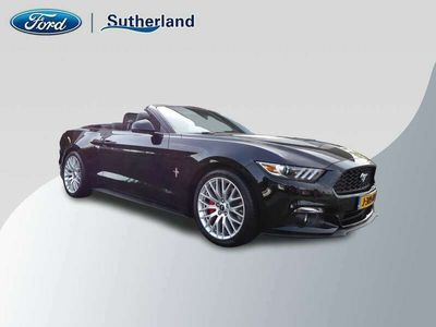 tweedehands Ford Mustang Convertible **CABRIO/17.000KM.!/NAVI/XENON/LEER/19