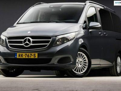 tweedehands Mercedes Viano 250d Lang Avantgarde Edition Automaat 7 Persoons (GROOT NAVI, VOL LEDER, ELEK SCHUIFDEUREN, GETINT, PDC)