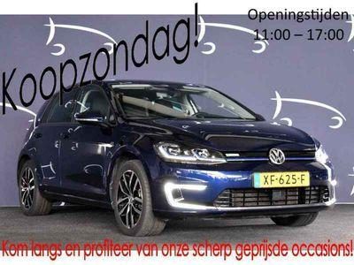 """tweedehands VW e-Golf e-GolfEXCL.BTW NAVIGAITE 18""""LMV NAVIGATIE CRUISE"""