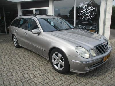 tweedehands Mercedes E320 Combi 3.2 CDI AUT Avantgarde Launch Edition (tijde