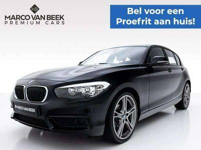 """tweedehands BMW 116 116 i Sport Nw. Prijs € 32.390 Airco 19"""" Stoelverwa"""