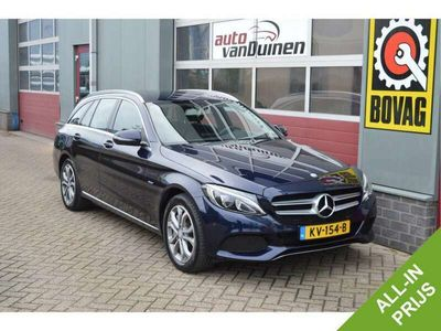 tweedehands Mercedes C350 Estate e Lease Edition O.a: PDC, Camera, Stoelverw