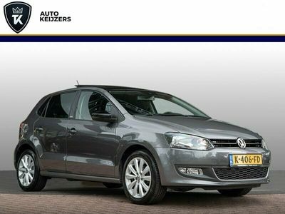 tweedehands VW Polo 1.2 Panoramadak Airco Stoelverwarming Airco Elek Ramen Mistlampen Benzine!