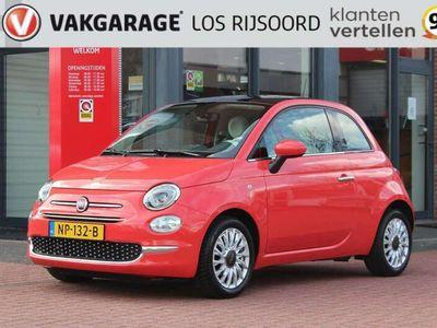 tweedehands Fiat 500 80pk Lounge edition | Navigatie | Panorama | Bluet