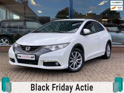 tweedehands Honda Civic 1.8 Sport 142PK wit metallic! Camera/Led/Xenon/Cru