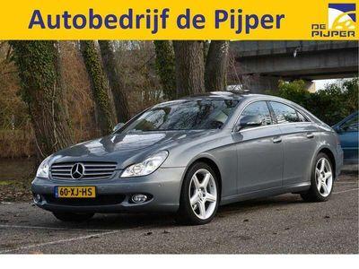 tweedehands Mercedes CLS320 CDI AMG-LINE OPEN DAK, ELEKT.STOELEN, LUCHTVERING,