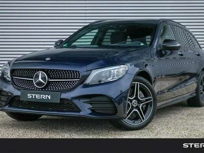 tweedehands Mercedes C300 C 300 EstateAutomaat AMG Line   Nightpakket   Pa