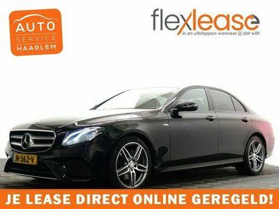 tweedehands Mercedes 220  E-Klasse,195pk Prestige AMG Night Edition Aut- Leer, Camera, Widescreen, Xenon