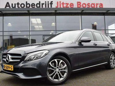 tweedehands Mercedes C350 Estate 350E Avantgarde Zwart Leder, Comand Full Ma