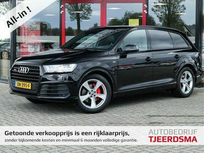 tweedehands Audi Q7 3.0 TDI quattro Pro Line S Nachtzicht/Virtual/Xenon/Pano/Headup/Camera/2xS-line/Standkachel/NW€131.161