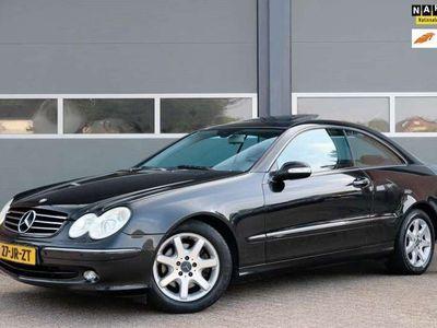 tweedehands Mercedes CLK320 Coupé Elegance 218PK Leder Schuifdak Xenon