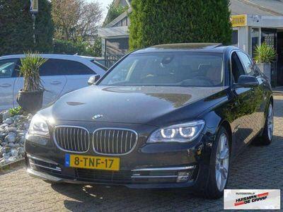 tweedehands BMW 740 740 d X-Drive 2013 Individual LED Zwart Schuifdak F