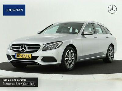 tweedehands Mercedes E350 C-Klasse EstateIncl BTW Memory stoelen   Comand Online..