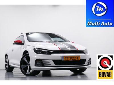 tweedehands VW Scirocco 1.4 TSI Highline Plus GTS Panaromadak Leder Climate Control Navigatie Stoelverwarming Parkeersensoren
