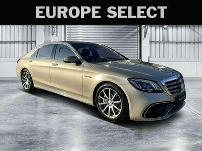 tweedehands Mercedes S63 AMG AMG 4Matic+ Lang Exclusive Nachtzicht fabr garantie