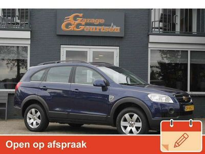 tweedehands Chevrolet Captiva 2.0 VCDI Style 2WD, Airco, Trekhaak, 7-Persoons, L