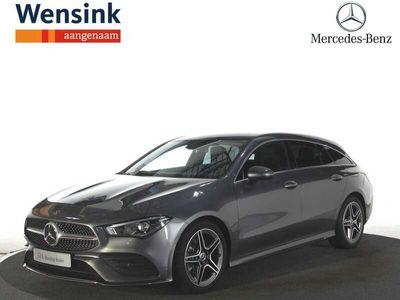 tweedehands Mercedes 220 CLA-Klasse Shooting BrakeAMG Line | Advantage pakket | Licht-zicht pakket | EASYPACK-achterklep | Digitale radio | Privacy glass |