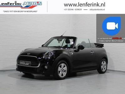 tweedehands Mini One Cabriolet 1.5 Salt Cruise, Clima, Voorstoelen verwarmd, PDC