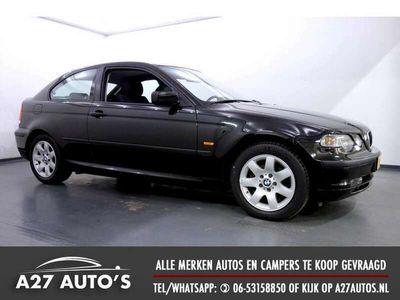 tweedehands BMW 318 Compact 318ti Comfort Line Airco, 143 Pk, Nette Au