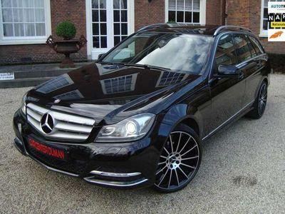 tweedehands Mercedes C180 Estate Ambition Avantgarde Open dak Led Xenon Navi