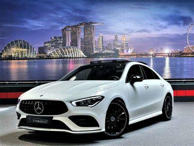 tweedehands Mercedes CLA200 AMG & Nightpk|Sfeer|Pano
